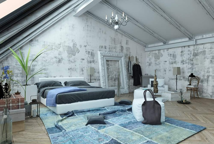 ceiling beam bedroom feng shui