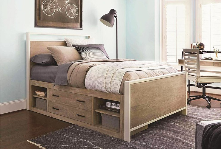 no storage under bed for feng shui