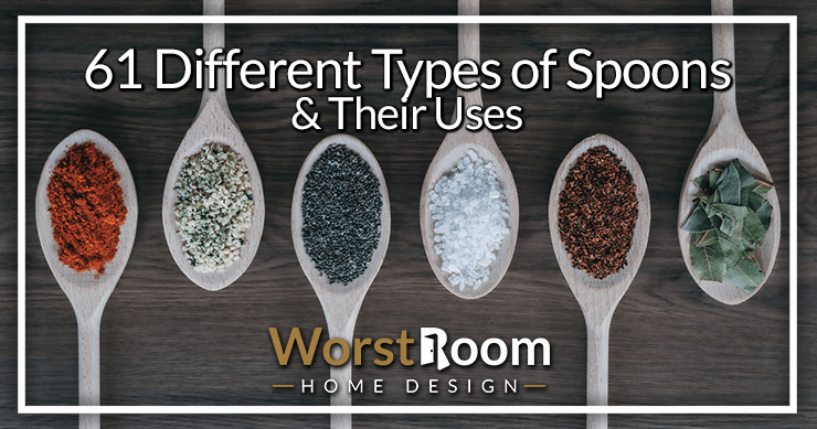 61 different types of spoons and their uses