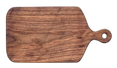 cutting board with handle and hanging hole