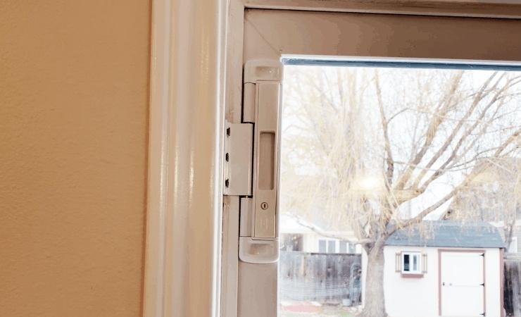 double bolt for sliding glass doors