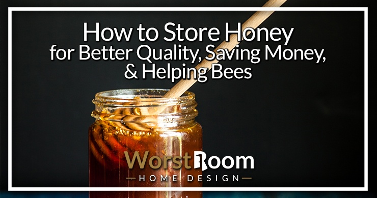 how to store honey