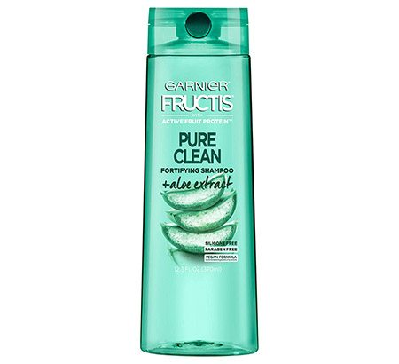 garnier fructis pure clean fortifying shampoo with aloe extract
