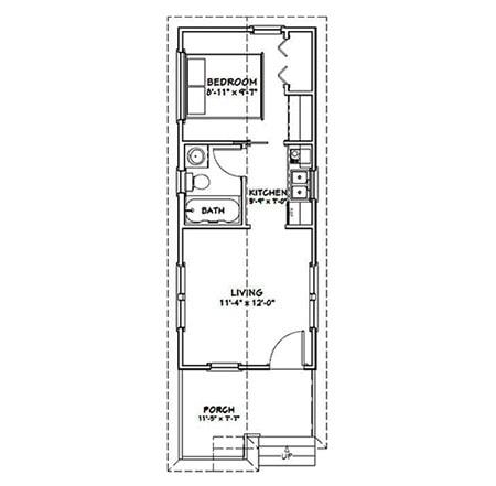 home styles - shotgun house floor plan