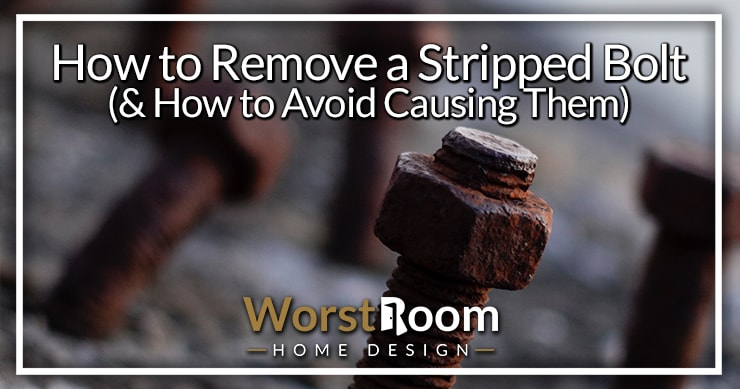 how to remove a stripped bolt