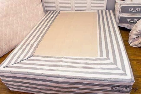 DIY bed skirt