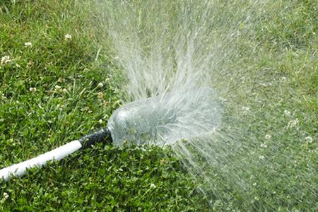 DIY lawn sprinkler system alternatives