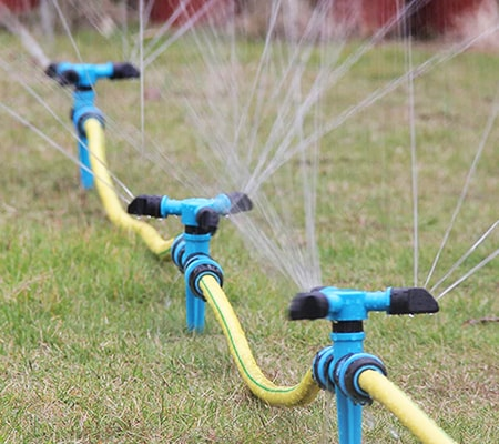 above ground sprinkler system