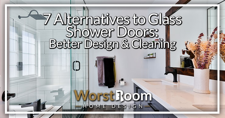 7 Alternatives to Glass Shower Doors: Better Design & Cleaning | WR