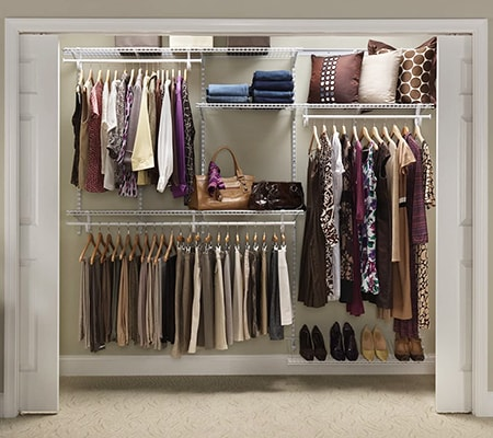 bedroom closet storage organizer