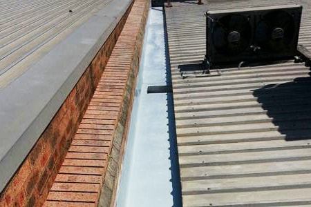 box gutter as a traditional gutter alternative