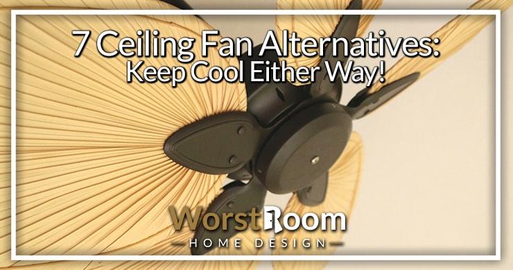 ceiling fan alternatives