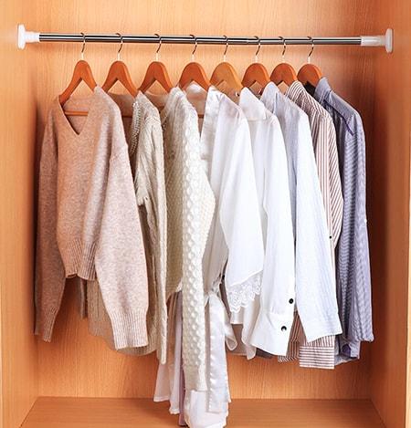 closet tension rod
