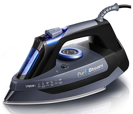 a clothes iron can steam moisture out of wet clothing which makes it a perfect clothes wringer alternative