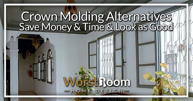 crown molding alternatives