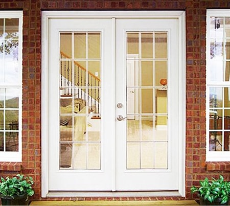 french doors are great options to replace sliding glass door