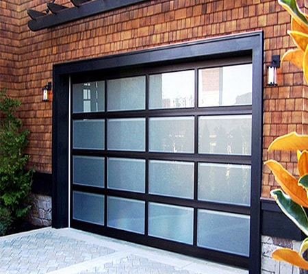 glass roll-up doors are great sliding glass door alternatives especially to the backyard