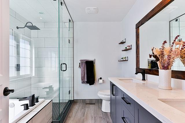 glass shower door alternatives