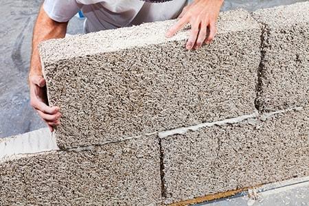 hempcrete concrete bricks