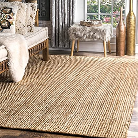 Jute and sisal rugs are extremely durable and have several textures and weaves available.