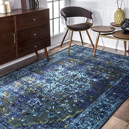 Nylon rugs are extremely easy to keep clean compared to other types of rugs.