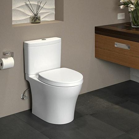 round bowl toilet