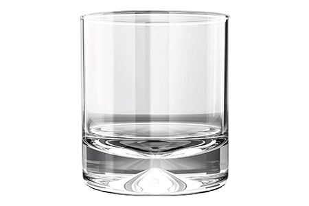 whiskey glasses are among the shortest but wide of the different types of glasses