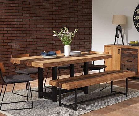 wooden tables bring a classic style of warmth and comfort to any room