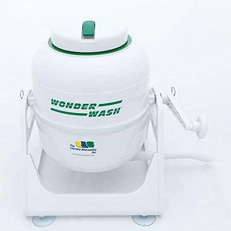 The Wonder Wash - portable laundry machine