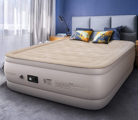 air mattresses are great temporary and portable mattress alternatives