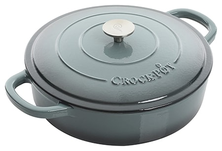 a braiser can be used instead of a dutch oven since it's basically the same but shallower