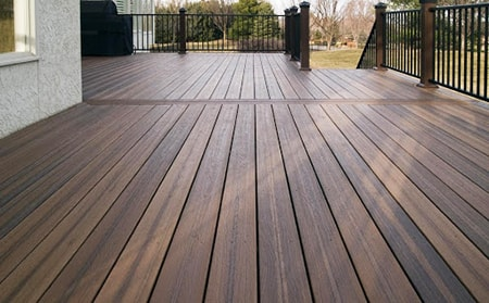 composite decking has the best of all of the features of wood decking alternatives