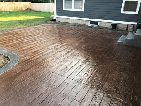 concrete decking is among the most durable of the decking alternatives