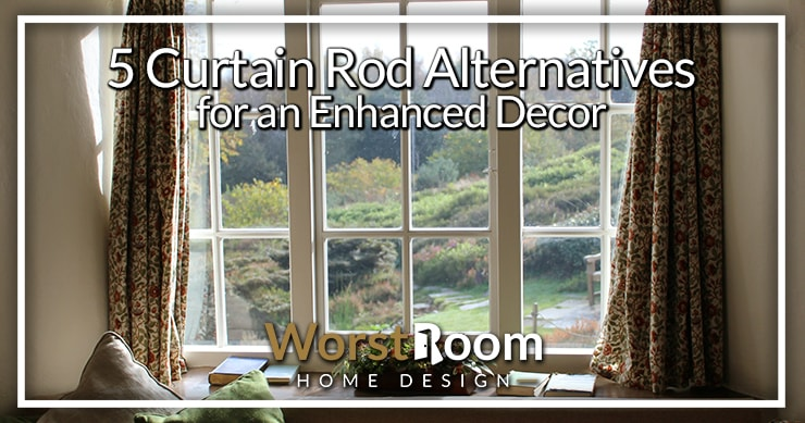 curtain rod alternatives