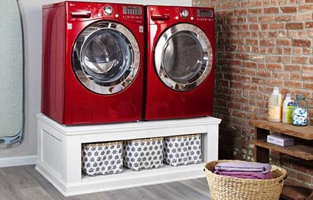 DIY washer pedestal alternative