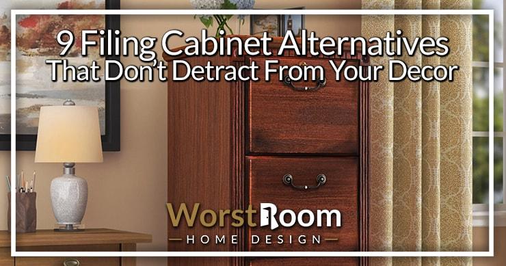 filing cabinet alternatives