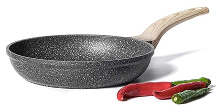 like a skillet, a frying pan can be used as a dutch oven if you have a lid