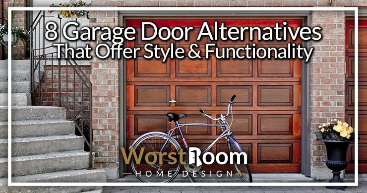 garage door alternatives
