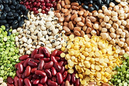 legumes are a must especially for protein