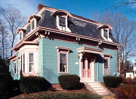 mansard gambrel style roof