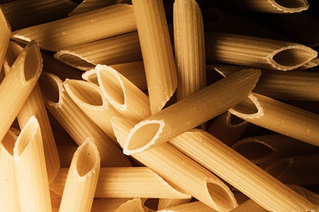 pasta belongs in a prepper food storage plan but can take up a lot of space if you get the wrong kind