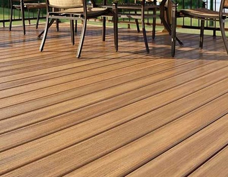 PVC decking is an easy to install alternative to decking boards