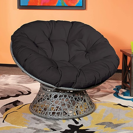 round chair types are a cool novelty especially for young people