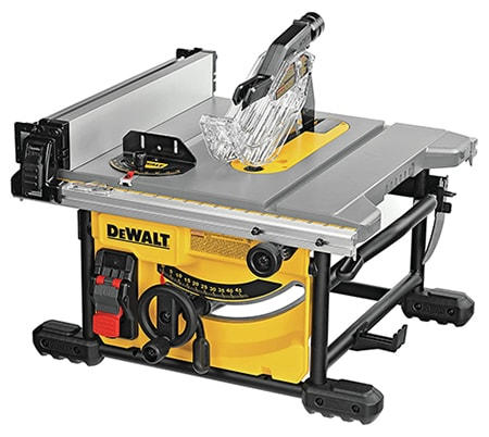 table saws are meant to make precision cuts on larger pieces of wood, ones that need to be straight, but still aren't for intricate cuts