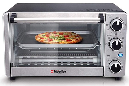 a toaster oven is what to use instead of a microwave