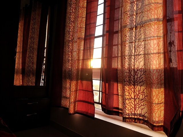 types of curtains featured