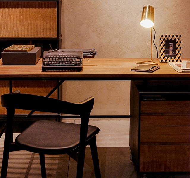 types of desks featured