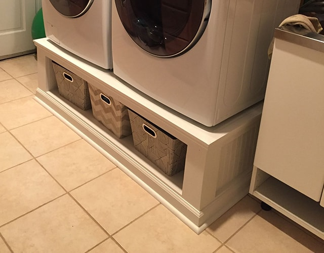 washer and dryer pedestal alternatives