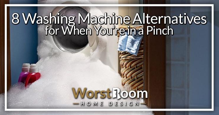 washing machine alternatives
