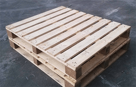 wooden pallets are perfect pedestals if you don't mind the look, but you can paint them and decorate them to make them more attractive.